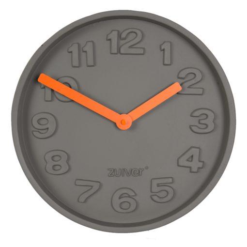 Zuiver Concrete Time wandklok